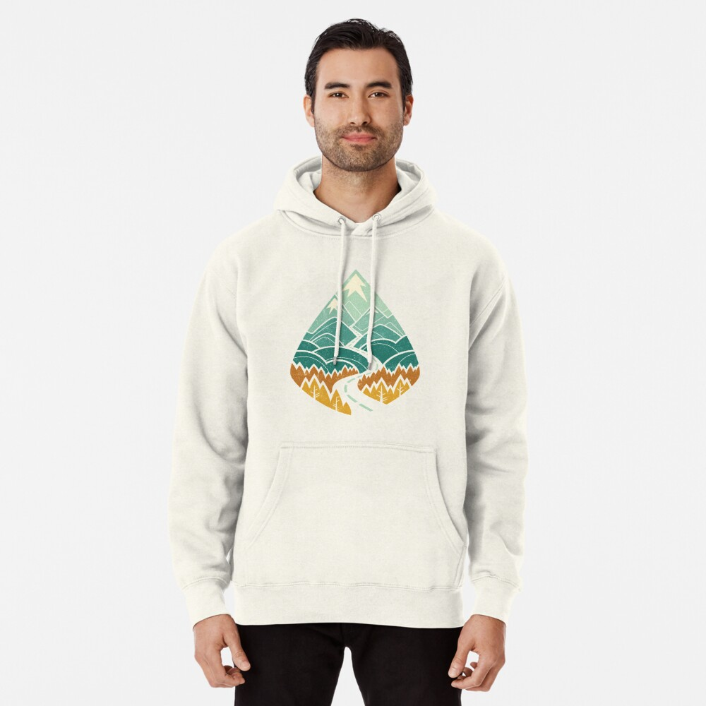 The Road Goes Ever On: Autumn Pullover Hoodie