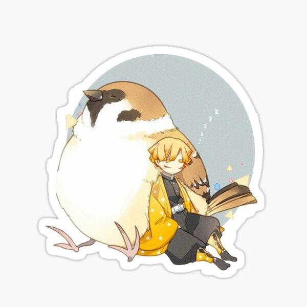 Zenitsu, kimetsu no yaiba Sticker