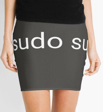 sudo su command Mini Skirt