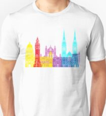 Belfast skyline pop Unisex T-Shirt