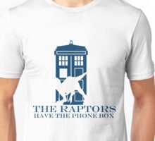 The raptors have the phone box 2 Unisex T-Shirt