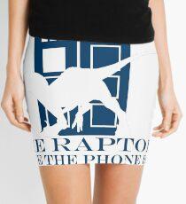 The raptors have the phone box 2 Mini Skirt