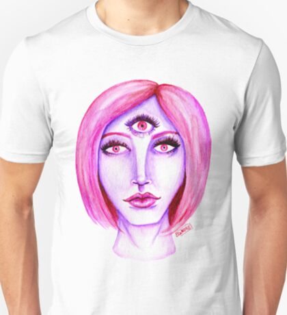 Pink Hair, Purple Skin T-Shirt