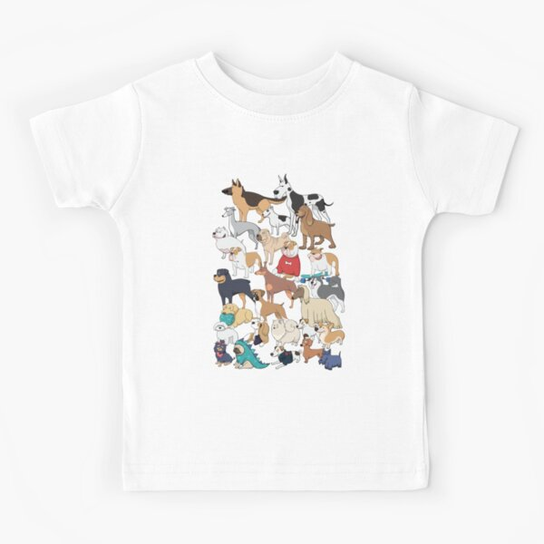 Dogs of the World Kids T-Shirt