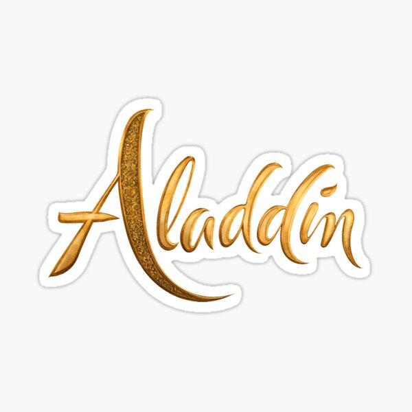 Aladdin Logo Sticker