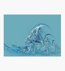 Ocean Waves Fractal Photographic Print