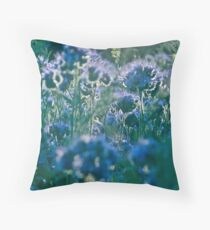 Fairy - tale  blue & blue  flax.  by Brown Sugar, Views (818)  . Dziękuję !!!! tvm..cu18r ! Throw Pillow