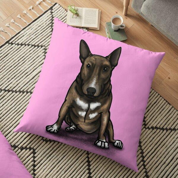 Bruce BullTerrier Bonus  Floor Pillow