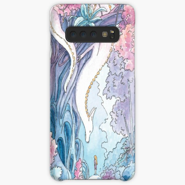 The Albino FoxDragon Samsung Galaxy Snap Case