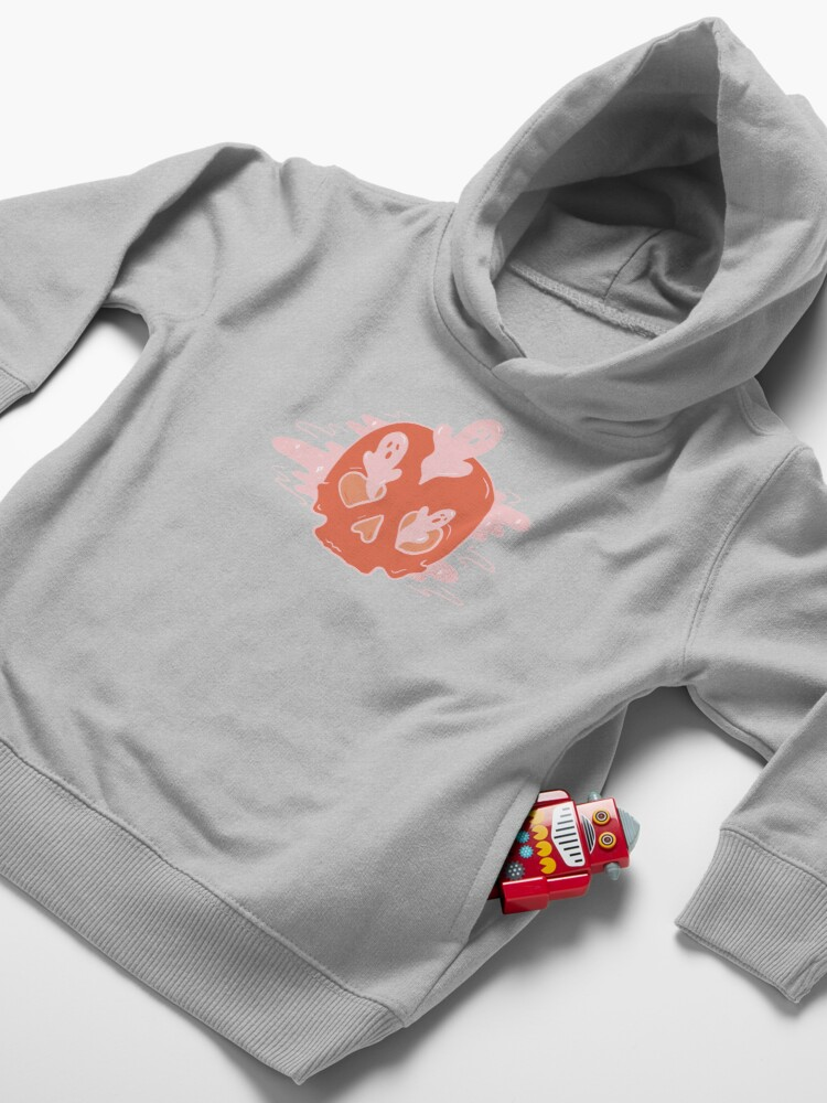 Alternate view of Spooks and Skull Toddler Pullover Hoodie