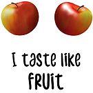 Applebreasts I taste like fruit by JH-Design