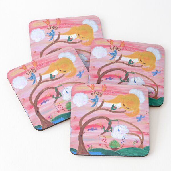 The Day is My Friend Coasters (Set of 4)