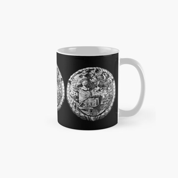 Genetti Coat-of-Arms on Mug Reverse Classic Mug