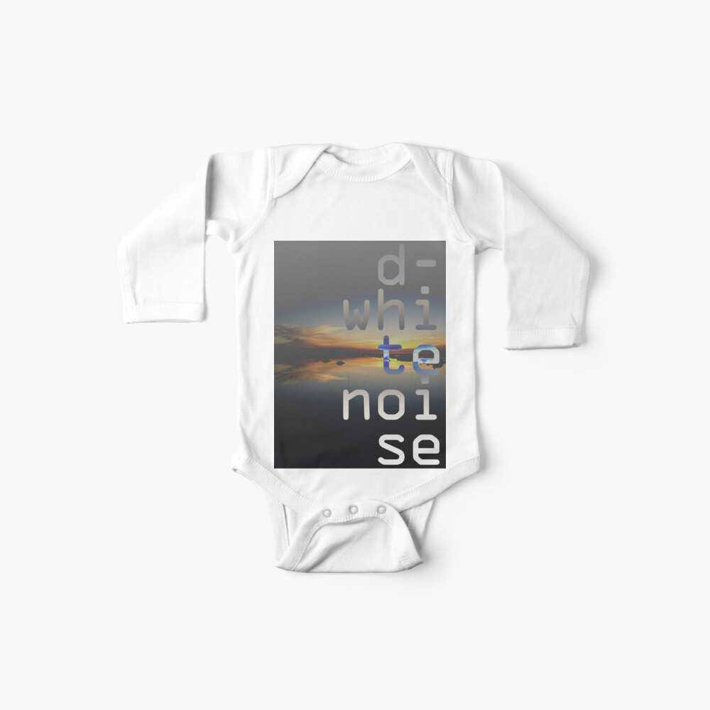 D-White Noise - sunset beach stack - merch Baby One-Pieces