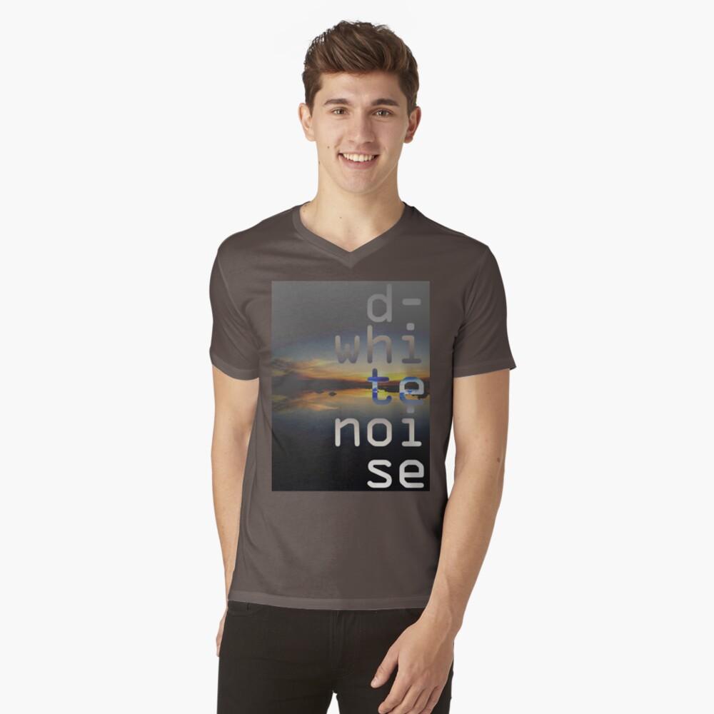 D-White Noise - sunset beach stack - merch V-Neck T-Shirt
