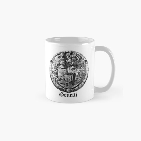 Genetti Coat-of-Arms with Surname Classic Mug