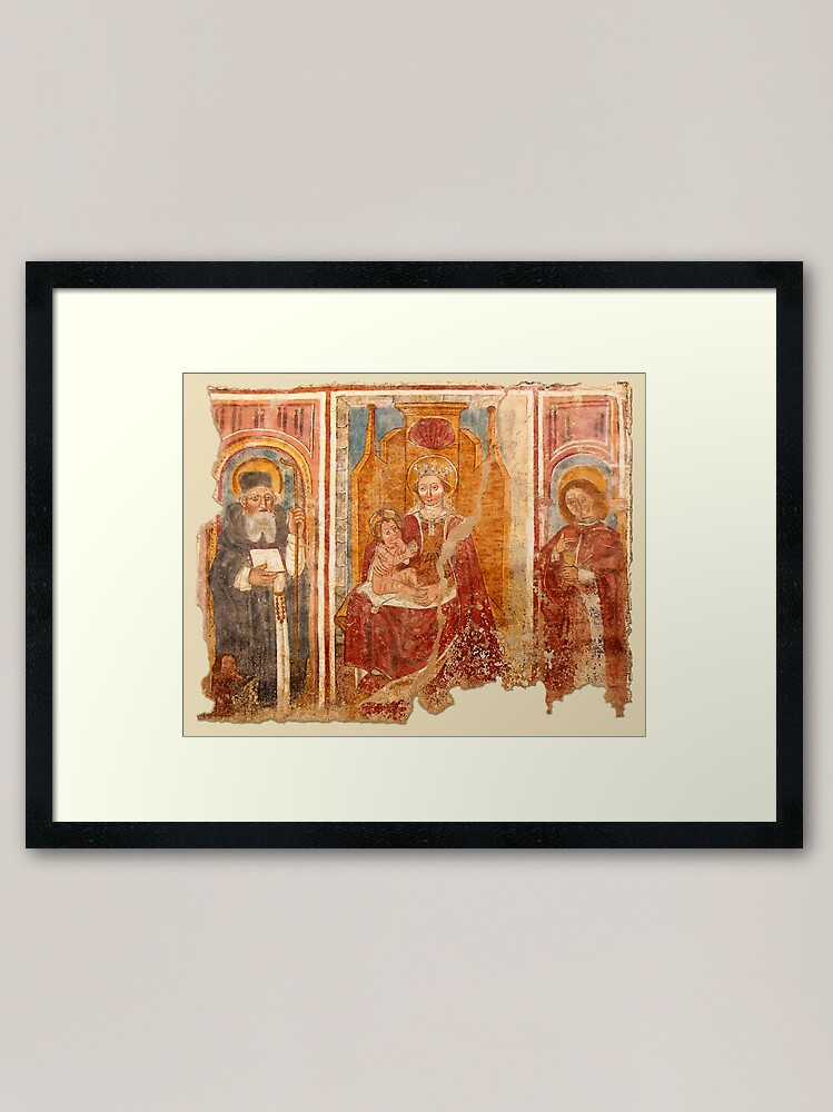 Alternate view of Madonna with Child Framed Art Print
