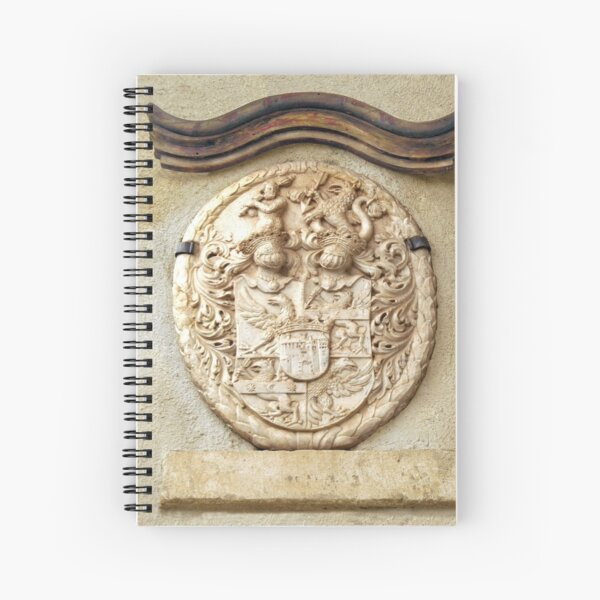 Genetti Family Coat-of-Arms Spiral Notebook