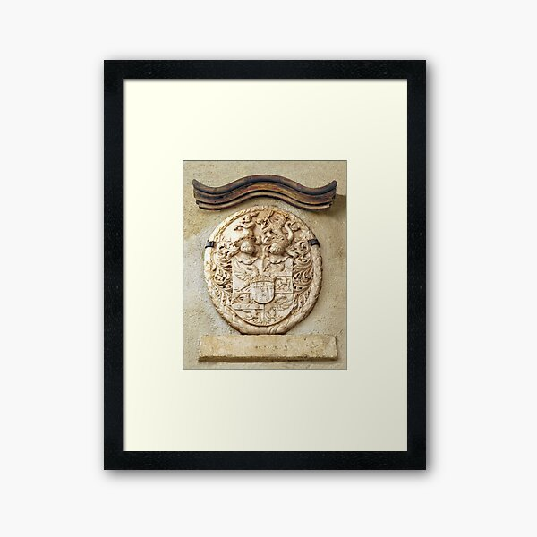 Genetti Family Coat-of-Arms Framed Art Print