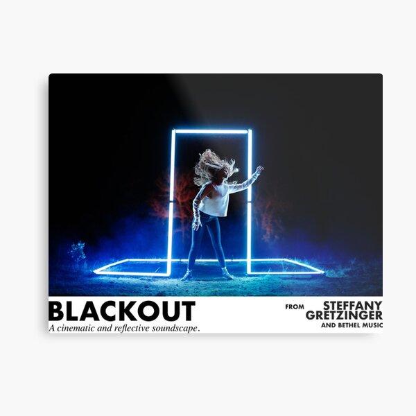Blackout - Steffany Gretzinger Metal Print