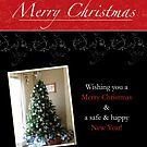 «Black Lace Christmas Card» de Shannon Kennedy