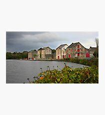 Ramelton Warehouses Photographic Print