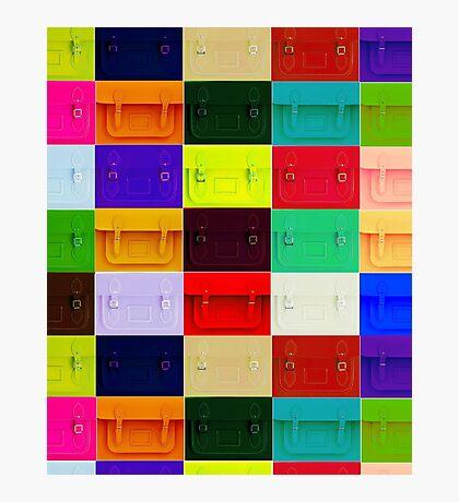 Satchel iPad/ phone case Photographic Print