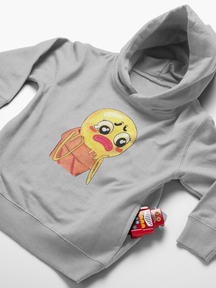 Alternate view of Sad Sarah the amazing world of gumball Toddler Pullover Hoodie
