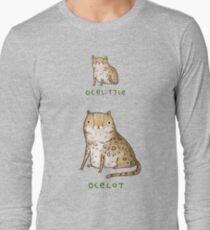 Ocelittle Ocelot Long Sleeve T-Shirt
