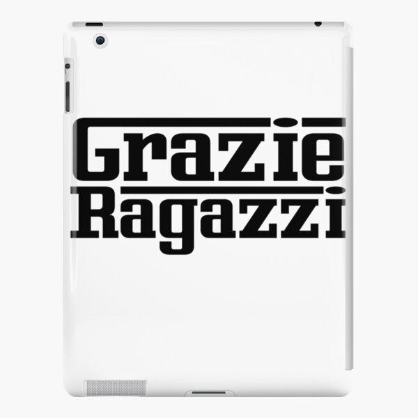 Grazie Ragazzi Check Black iPad Snap Case