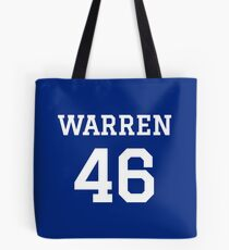 Warren #46 (for darker color shirts) Tote Bag