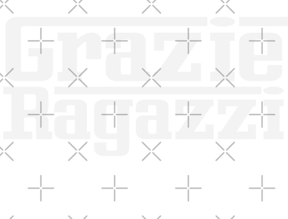 Grazie Ragazzi Check White by TheWorksTeam