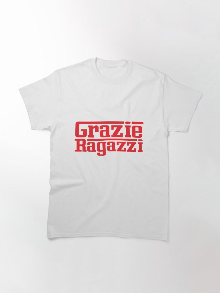 Alternate view of Grazie Ragazzi Red Classic T-Shirt