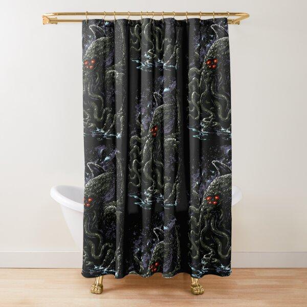 Cthulhu-Lovecraft Shower Curtain