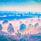 Valley Watercolor by linaji