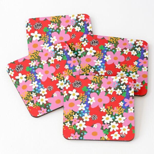Flower Power! Coasters (Set of 4)
