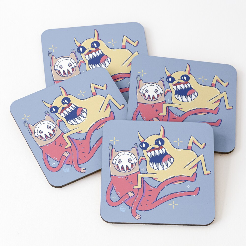 Nightosphere Disguises Coasters (Set of 4)