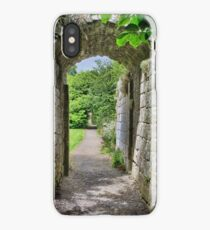 Where Monks once passed. iPhone Case