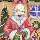Santa Delivers by DarkRubyMoon
