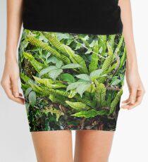 A Bird's Nest Fern Mini Skirt
