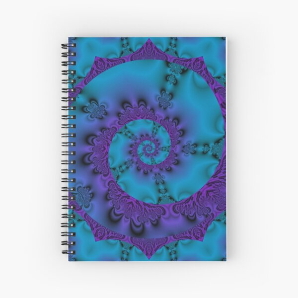 Into The Mystic Spiral Spiral Notebook