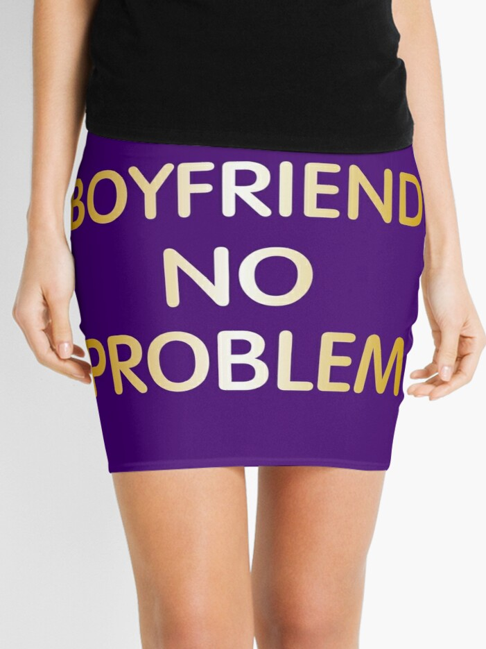 Need no boyfriend skirt