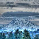 Mt Rainier in HDR by skreklow