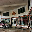 Grimes Garage in Hillsboro, Texas by Susan Russell