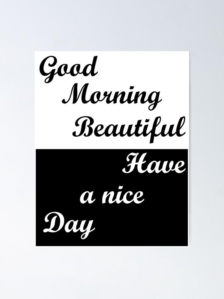 Morgen schönen tag und einen guten Hallo Sonnenschein