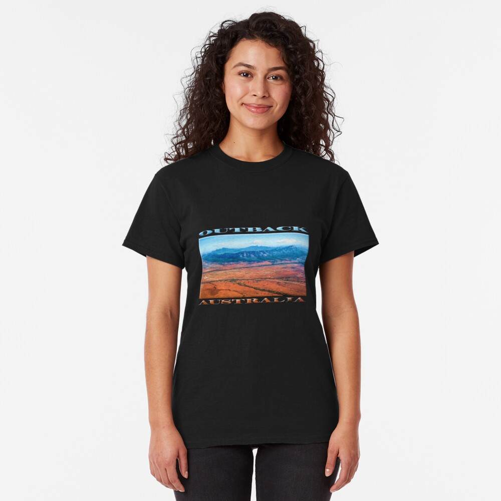 Wilpena Pound  (digital painting) Classic T-Shirt