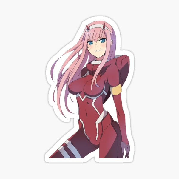 Zero Two - Darling in the Franxx - Lindo Pegatina