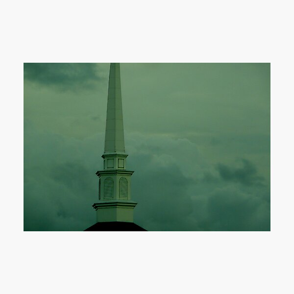The Highest Steeple Photographic Print
