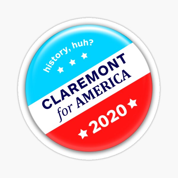 Claremont for America 2020 Sticker