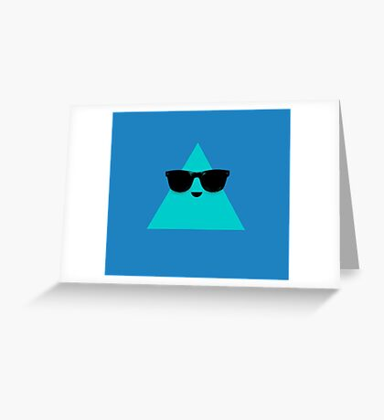 Cool Triangle Greeting Card